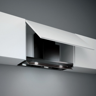 Designer cooker hoods - Virgola Black