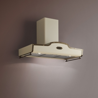 Wall-mounted cooker hoods - West
